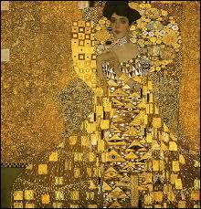 Gustav Klimt : 'Portrait d'... Bloch Bauer'.