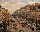 Camille Pissarro : 'Boulevard ... , après-midi de soleil'.