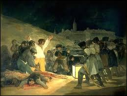Francisco de Goya : 'La fusillade du 3 mai ... '.