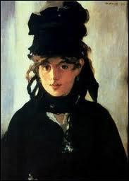 Edouard Manet : ' ... au chapeau noir'.