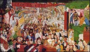 James Ensor : 'L'entrée du Christ à ... '.