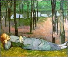 Emile Bernard : ' ... au Bois d'Amour'.