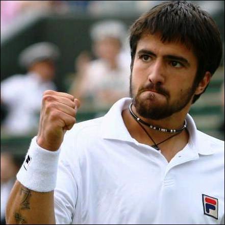 Ce joueur serbe a gagné la coupe Davis l'an passé avec la Serbie