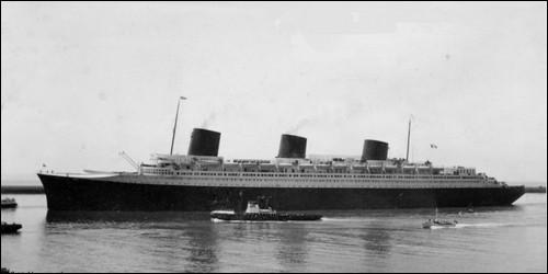 Quel célèbre paquebot de la Compagnie générale transatlantique fut lancé en 1932 ?