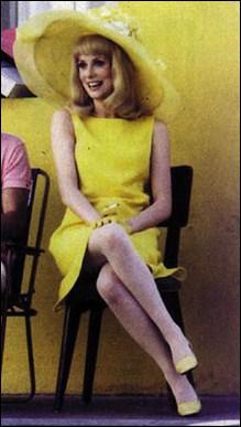 Dans quel film des 60's pouvait-on voir Deneuve dans cette petite robe jaune pendant que sa compère, Françoise Dorléac, portait, quant à elle, une robe rose ?