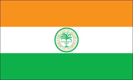 Quelle est la ville qui possède ce drapeau ?