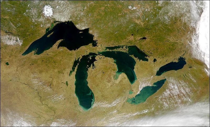 Quel est le le plus grand lac des Etats-Unis et du Canada ?