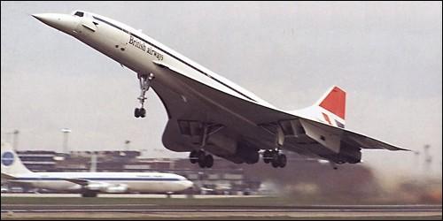 En quelle année le Concorde a été mis en service ?
