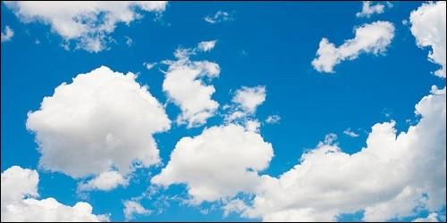Ces nuages de beau temps, à la base plate et au sommet arrondi, sont blancs dans leur partie supérieure et ombragées dans leur zone inférieure. C'est des :