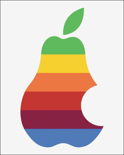 De quelle marque ce logo est-il un pastiche ?