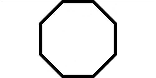 Comment s'appelle un polygone à huit côtés ?