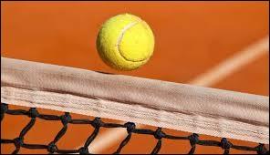 C'est le cri que pousse le tennisman qui voit une balle de service puissante de son adversaire toucher le filet...