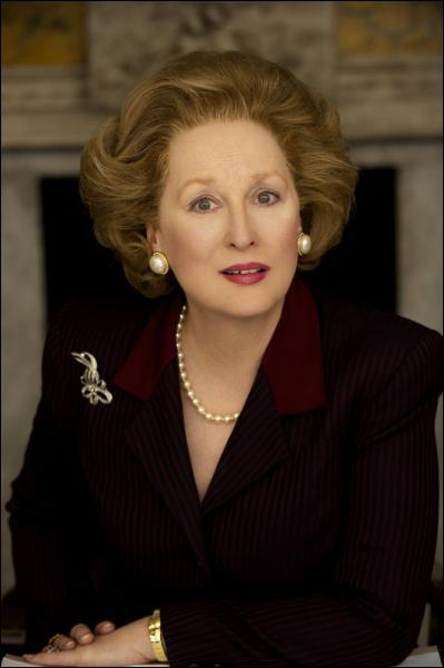Quelle célèbre femme premier ministre britannique sera interprétée par Meryl Streep dans le film 'The Iron Lady' en 2012 ?