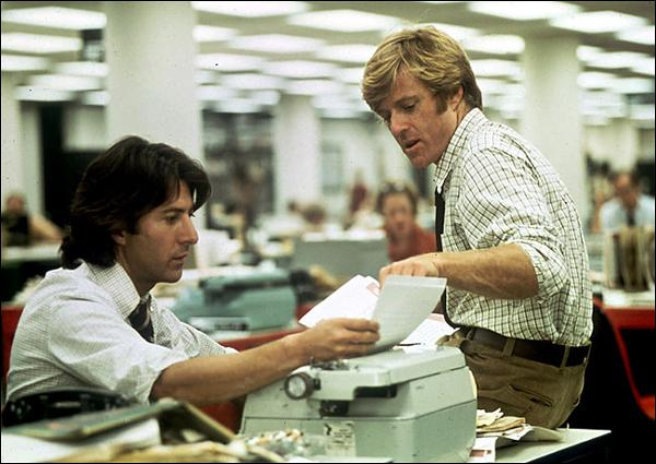 Dans 'Les hommes du président', deux journalistes du Washington Post enquêtent sur une affaire d'espionnage mettant en cause le président Nixon ? C'est :