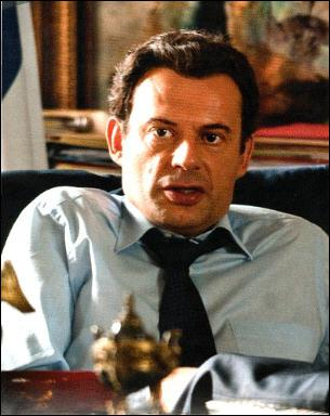 Qui interprète le rôle de Nicolas Sarkozy dans 'La conquête' ?
