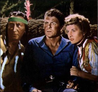 Quel est ce président des Etats-Unis qui fut surtout acteur de westerns dans les années 1940 et 1950 ?