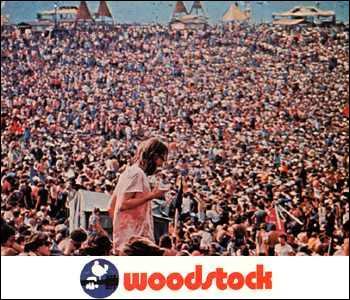 Qui n'était pas au concert mythique de WoodStock en 1969 ?
