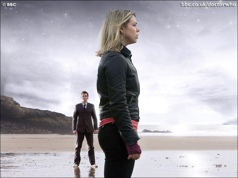 Que dit Rose au Doctor dans le dernier épisode de la saison 2, sur la Baie du Méchant Loup ?