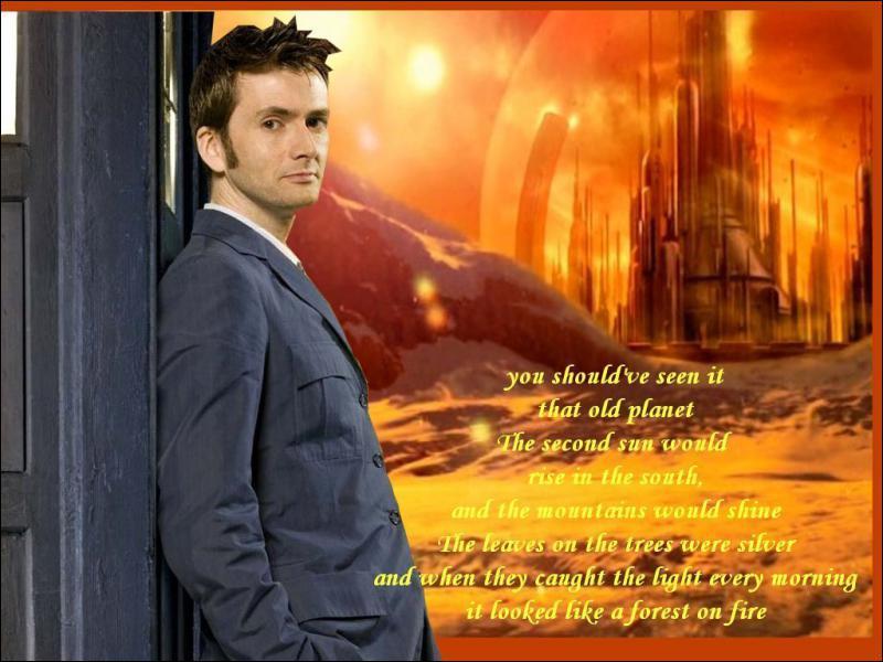 De quelle planète vient le Doctor ?