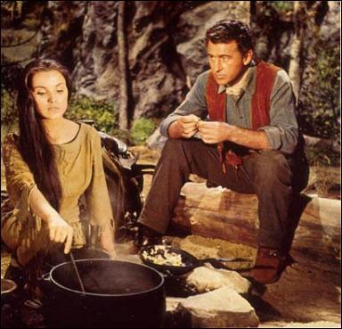 Il joue le rôle de Sandy McKenzie dans 'La dernière chasse' en 1956 sous la direction de Richard Brooks.