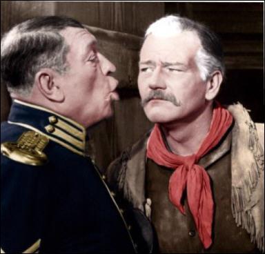 Il joue le rôle du Capitaine Nathan Cutting Brittles dans 'La charge héroïque' en 1939 sous la direction de John Ford.