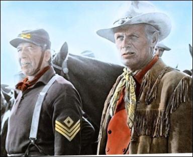 Il joue le rôle du capitaine Thomas Archer dans 'Les cheyennes' en 1964 sous la direction de John Ford.
