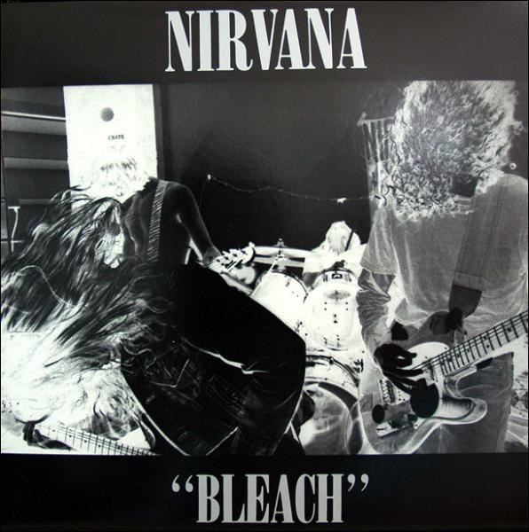 Combien a couté l'enregistrement de l'album Bleach sorti sous le Label Sub Pop en 1989?