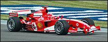 A la télévision, il y avait de la Formule 1, le grand prix de Monza qui se court en ...