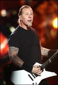 Depuis 1981, qui est le chanteur de Metallica ?