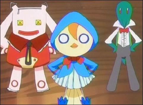 Par la suite, avec lequel d'entre eux (celui qui lui ressemble le plus au niveau du caractère) doit-il faire équipe pour chasser les Bounts ?