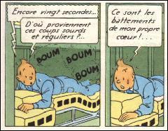 Au décollage, à combien de km d'altitude Tintin perd-il connaissance ?
