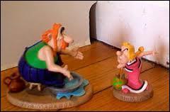 Qui est ce couple apparaissant dans les bandes-dessinées 'Astérix et Obélix' ?