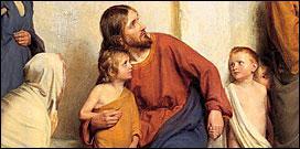 'Je vous le dis en vérité, si vous ne vous convertissez et si vous ne ... ... . . , vous n'entrerez pas dans le royaume des cieux'.