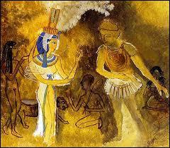 Comment se présente Cléopâtre à cette convocation ?