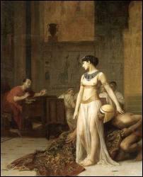 Dans quelle circonstance Cléopâtre fait-elle la connaissance de Jules César ?