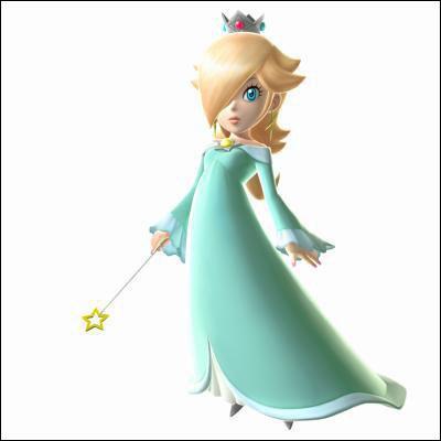 Parfois appelée Rosalina, elle est la princesse des Etoiles.