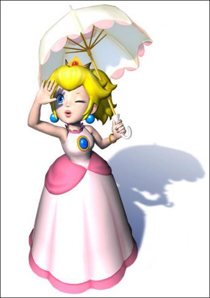 C'est la parfaite 'demoiselle en détresse', elle est follement amoureuse de Mario.