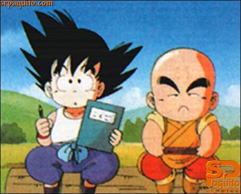 Quand Sangoku s'entrainait chez Tortue Géniale, un autre élève s'entrainait avec lui. Qui était-ce ?
