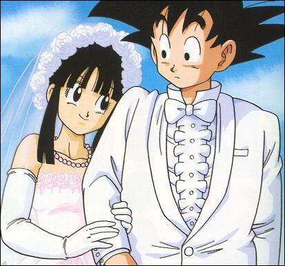 Avec qui Sangoku se marie-t-il ?