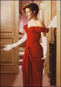 Robe rouge dans pretty woman