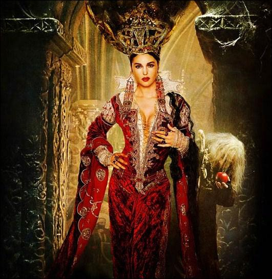 Dans quel film de Terry Gilliam Monica Bellucci interprète-t-elle une méchante sorcière toute de rouge vêtue ?