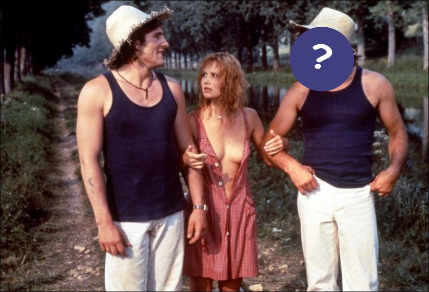 Qui est avec Gérard Depardieu et Miou-Miou ?