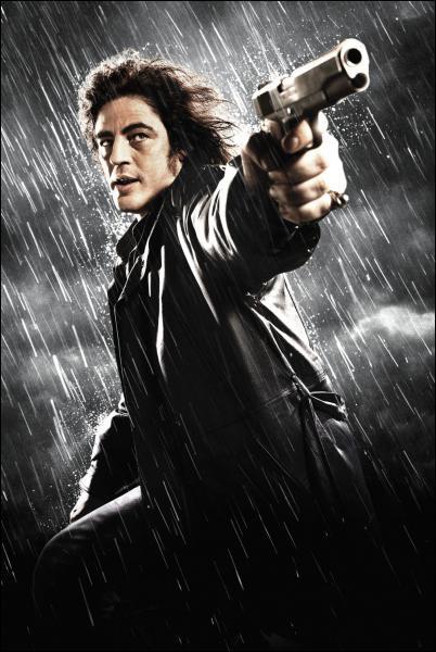 Pour quel film de Robert Rodriguez Benicio Del Toro a-t-il été maquillé et retouché à tel point qu'il en est presque méconnaissable ?