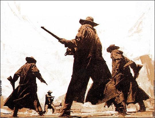 Quel autre western mythique, toujours avec Henry Fonda mais réalisé par Sergio Leone cette fois-ci, met en scène Jason Robards, Charles Bronson et Claudia Cardinale ?
