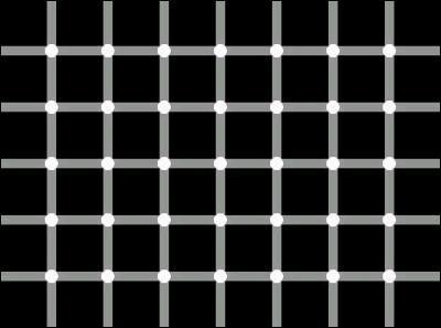 A la 'rencontre' des lignes il y a des points, mais de quelle couleur sont-ils ?