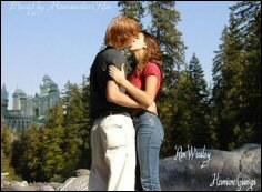 Dans quel film, Hermione embrasse-t-elle Ron ?