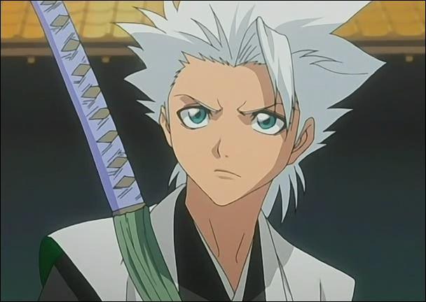 Le plus jeune capitaine du Gotei 13, il a hérité de la Dixième Division vers dix ans (âge Soul Society) :