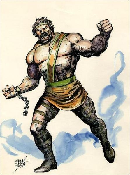 Les Olympiens selon Marvel