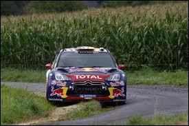 Qui pilotait ce véhicule au rallye d'Allemagne 2011 ?