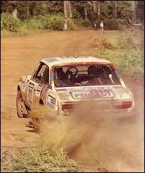 Quel pilote conduisait cette voiture au rallye du Bandama 1978 ?